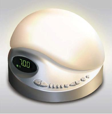 sunrise clock radio model color platinum biobrite inc