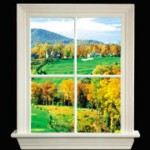 88701-G Window Lite w Golf Course View